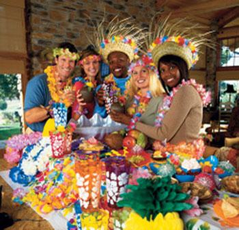 Fiesta hawaiana    Decoraci  n de fiestas